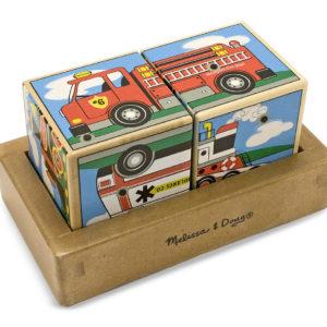 Paul Speelgoed - Geluid blokken puzzel